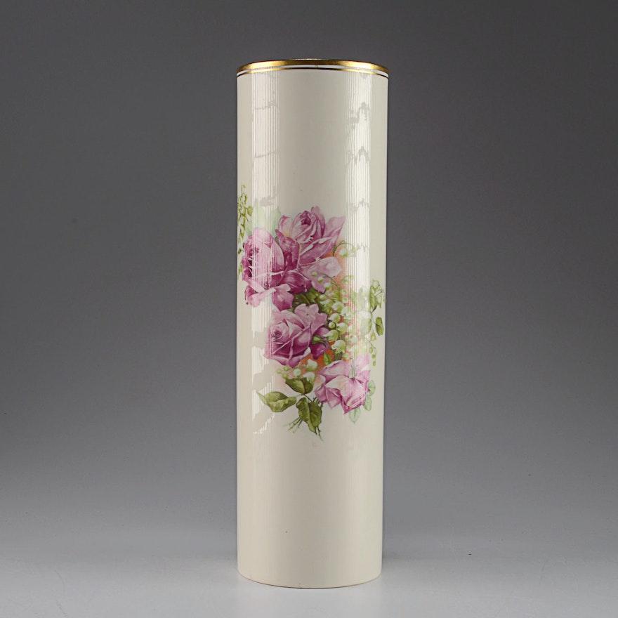 Belleek Willets Vase Ebth