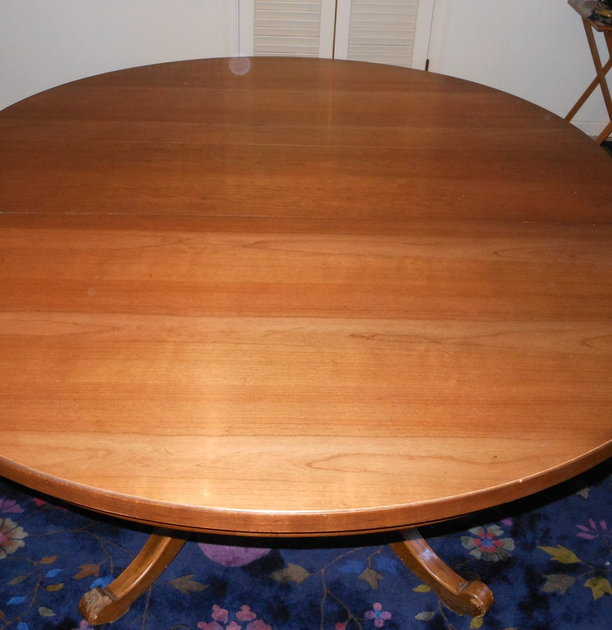 Thomasville Dining Room Chairs: Thomasville Dining Room Table And 6 Windsor Chairs : EBTH