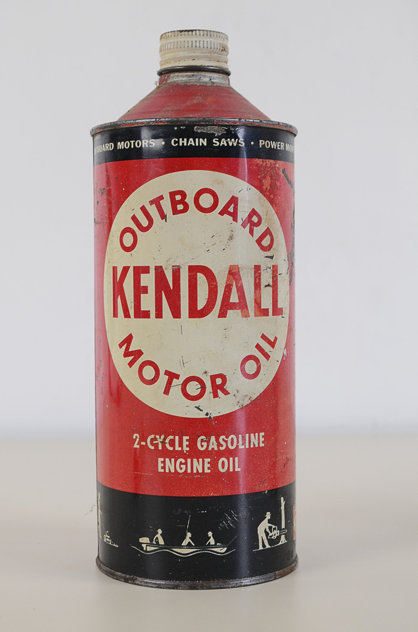 Vintage kendall oil and shell lubricant stick ebth for Kendall motor oil history
