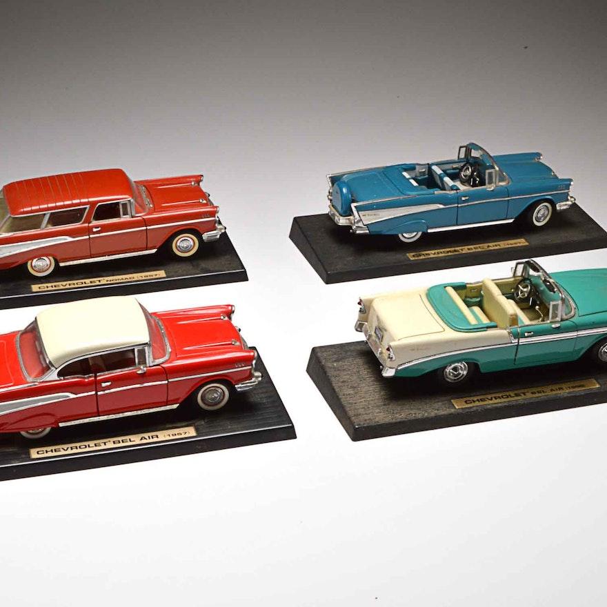 4 Road Tough Chevrolet Model Cars Ebth