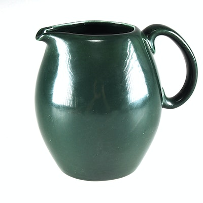Online pottery auctions china and glassware auctions in ebth showroom collection of david - Russel wright pitcher ...