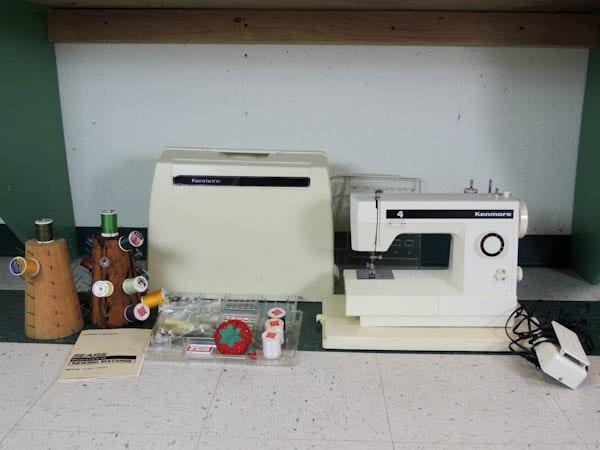 kenmore zigzag sewing machine