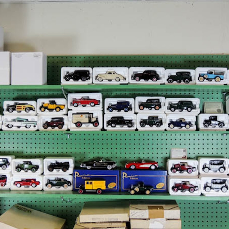 National Motor Museum Mint Die Cast Model Car Collection ...