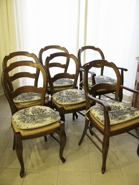 Pottery Barn French Country Style Chairs ...