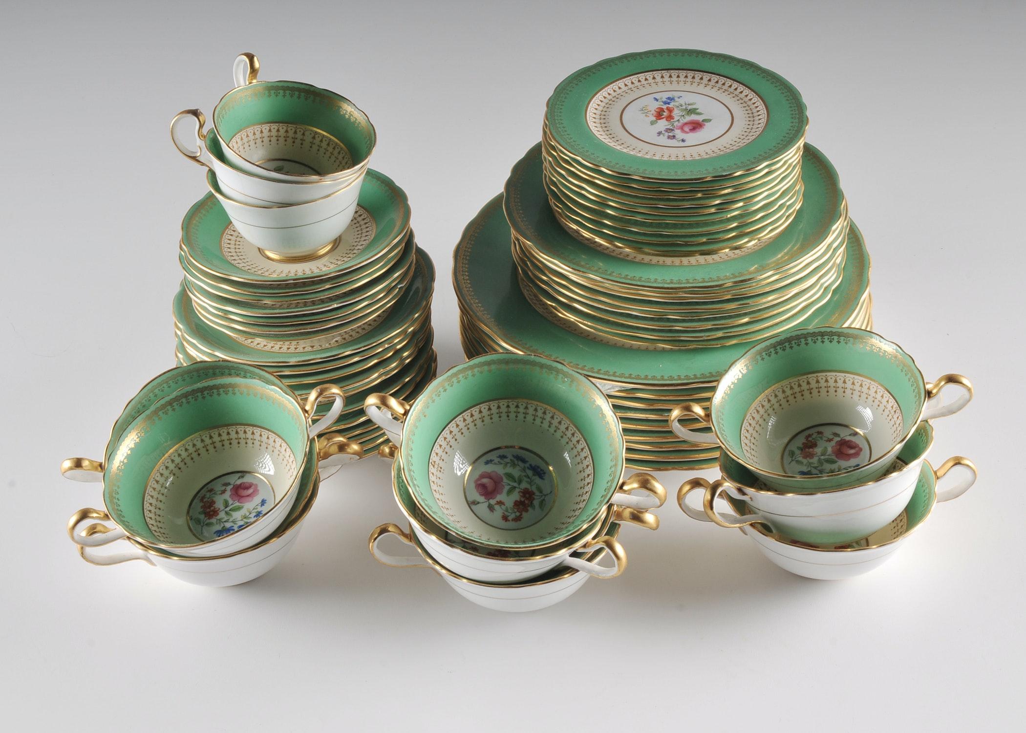 Aynsley Bone China Dinnerware ... & Aynsley Bone China Dinnerware : EBTH