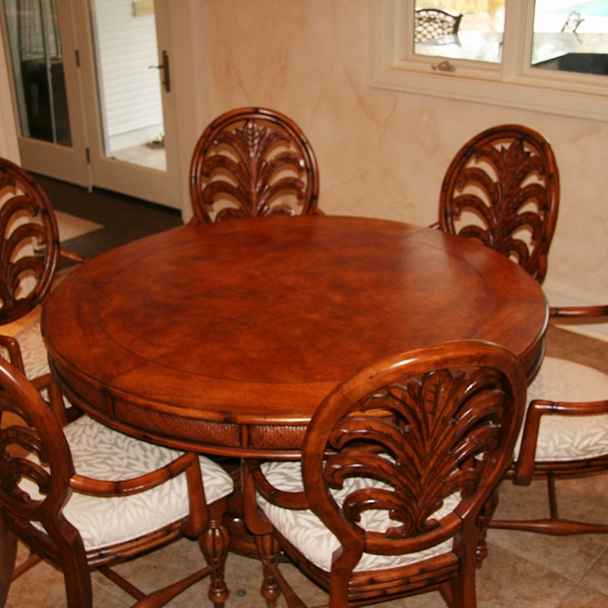 American Signature Dining Table And