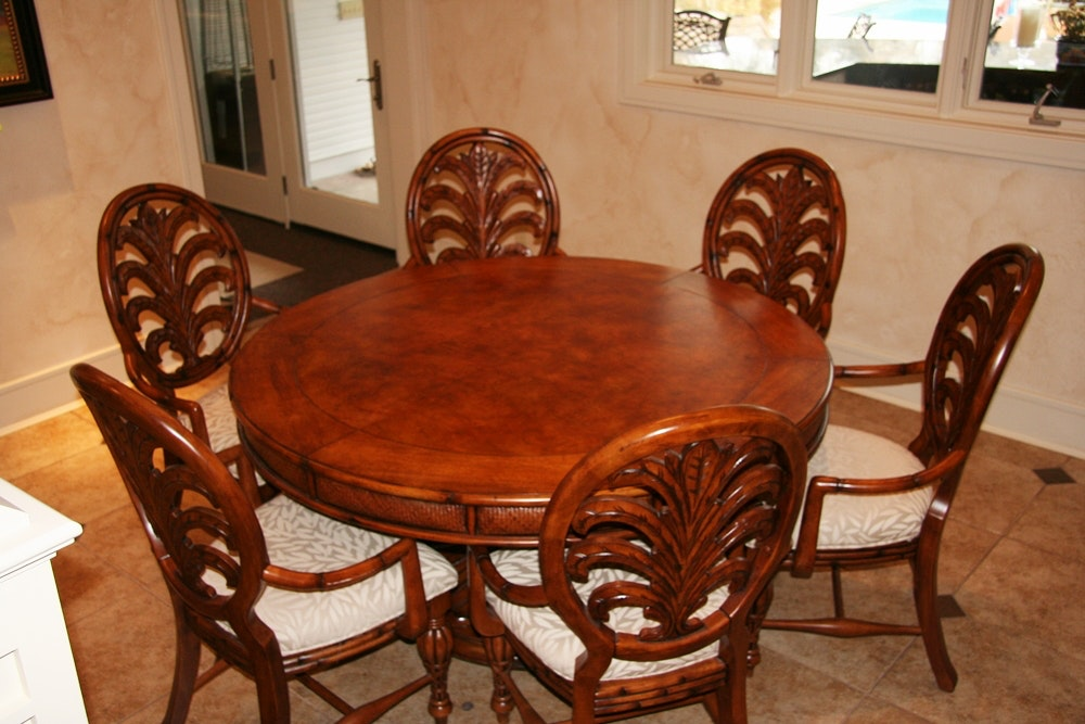 American Signature Dining Table and Chairs ... & American Signature Dining Table and Chairs : EBTH