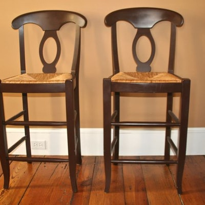 Vintage chairs antique chairs and retro chairs auction in fairfield county connecticut - Pottery barn schoolhouse chairs ...