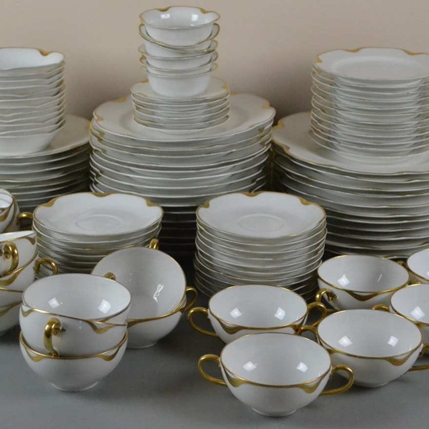 114 Pieces Vintage Haviland & Co. Limoges China \