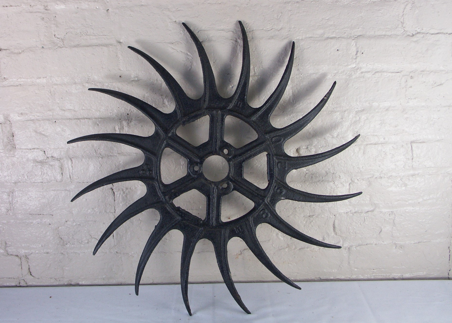 Antique Cast Iron Gear