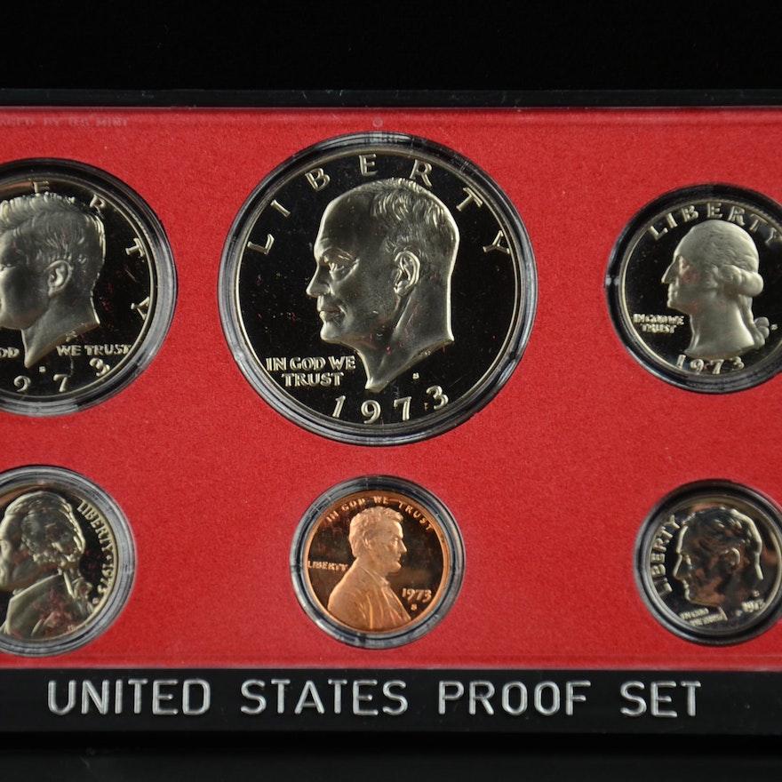 1973 U S  Proof set
