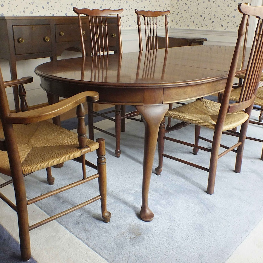 Pennsylvania House Dining Table And Chairs
