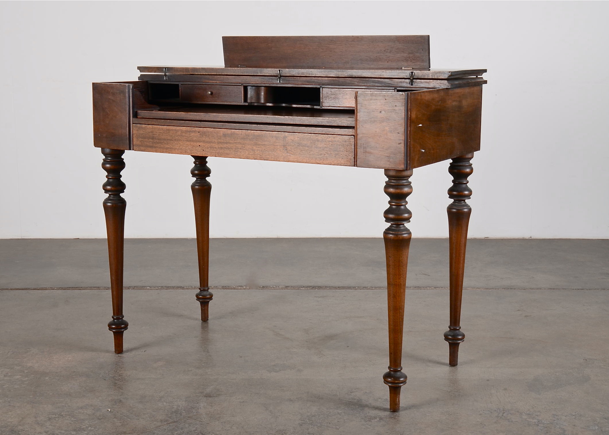 vintage mahogany spinet desk - Mahogany Desk
