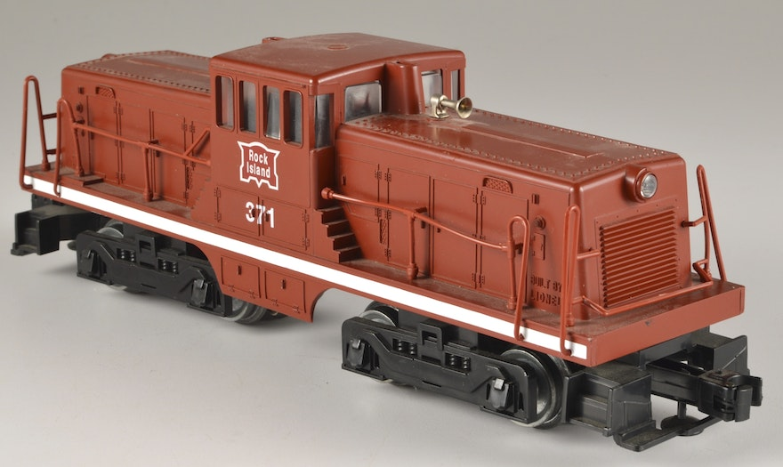 Lionel Electric Trains- Rock Island 44 Ton Switcher Engine