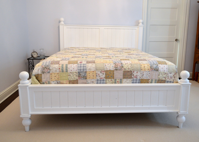 white queen size bed frame. Thomas Queen Size Bed By Pottery Barn White Frame