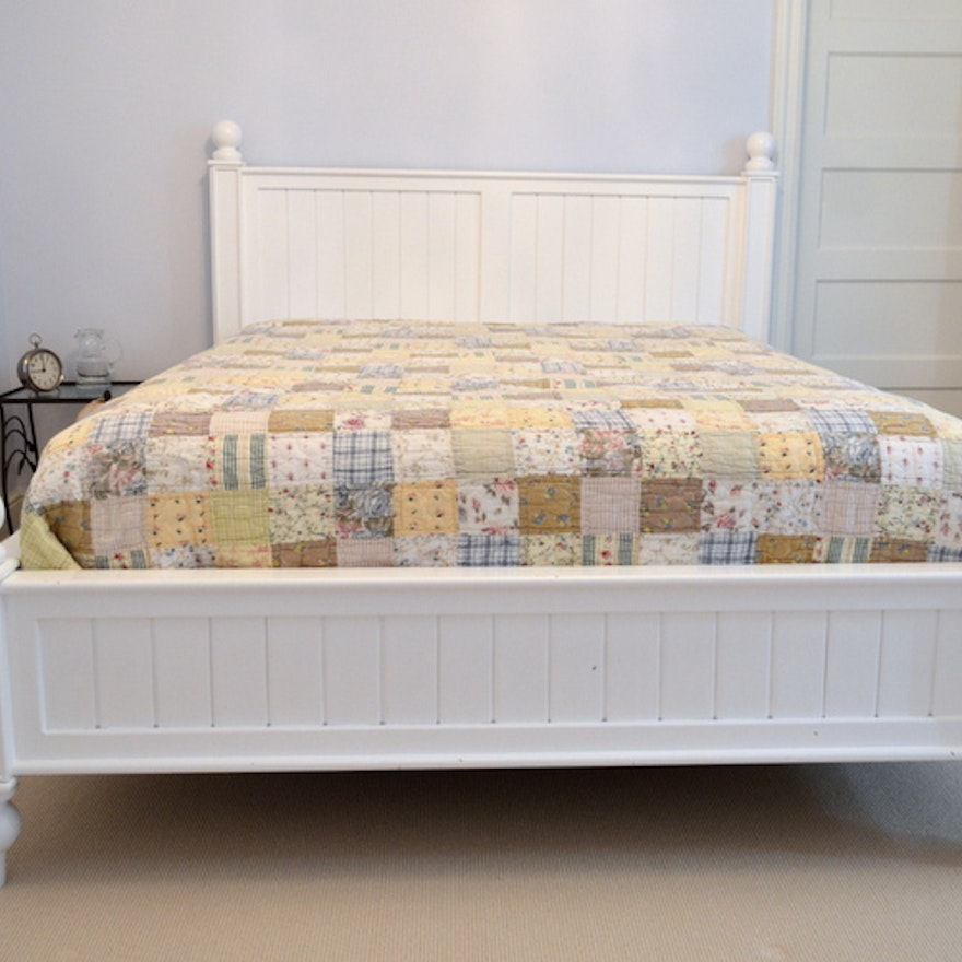 Thomas Queen Size Bed By Pottery Barn Ebth