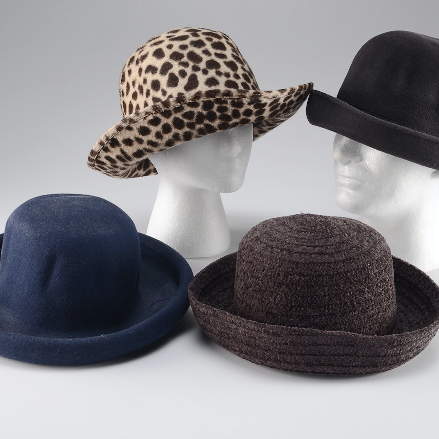 ace67f7eb6b Grouping of Four Women s Hats   EBTH
