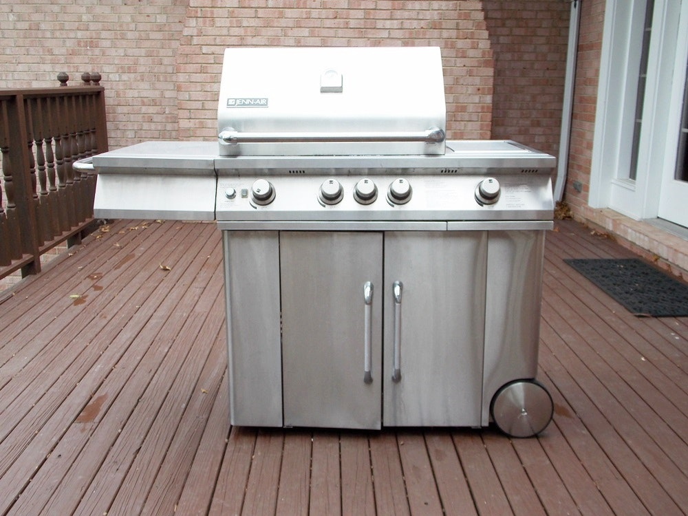 jenn air grill jenn air propane gas grill model 720 0336 with a sports 10645