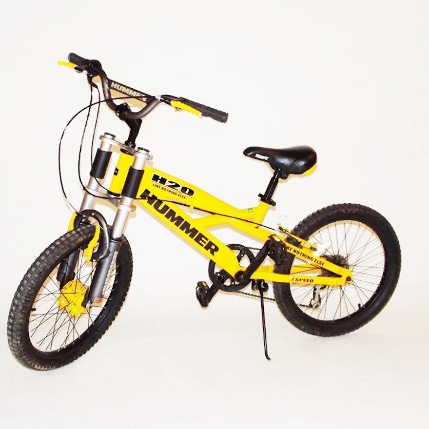 Yellow Hummer 7 sd Mountain Bike : EBTH