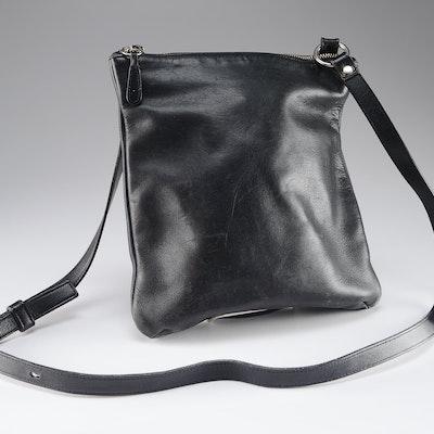 804935bf7d6c Coach Black Leather Cross Body Bag