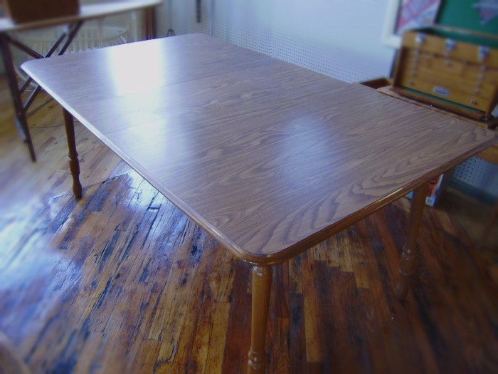 Dinaire Oak Chairs and Kitchen Table with Walter of Wabash ...