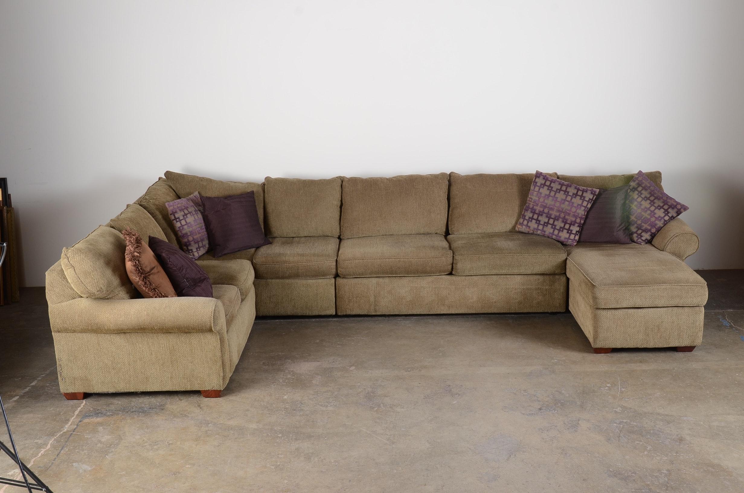 sofa express sectional couch ebth rh ebth com Tan Sofa sofa express sectional locking screws
