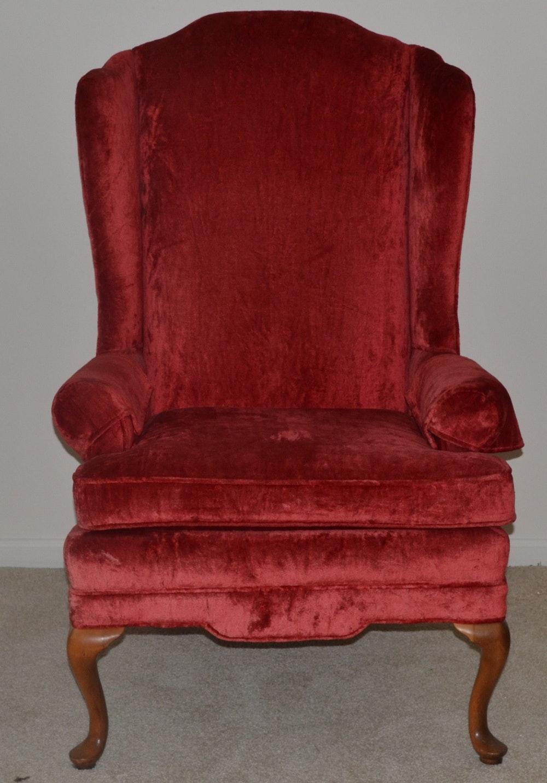 Conover Chair Company Wingback Chair Ebth