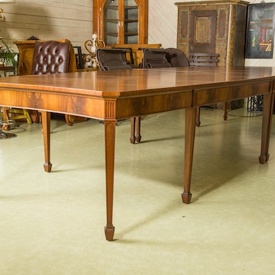 Vintage Tables Antique Tables And Retro Tables Auction In EBTH - Antique conference table