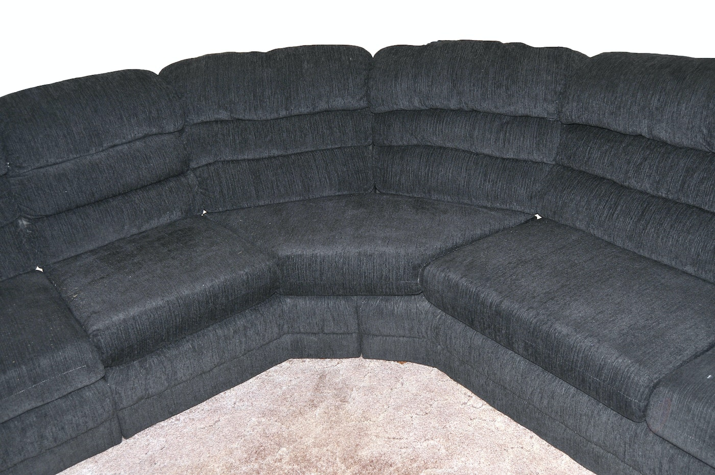 Simmons Sectional Hide A Bed Recliner Sofa Ebth