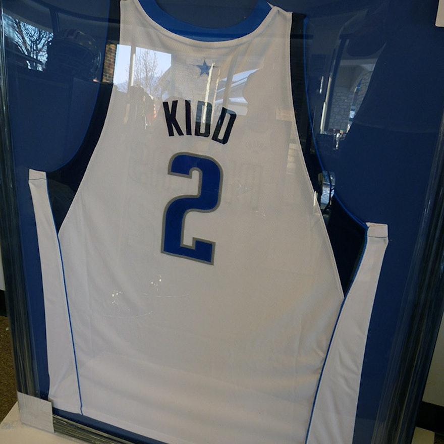 detailed look 2c96a 357c5 Framed Authentic Dallas Mavericks Jason Kidd Jersey
