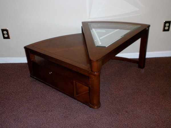 Wedge Coffee Table Hammary Oasis Wedge Lift Top Coffee Table From Sears Anza Large Wedge