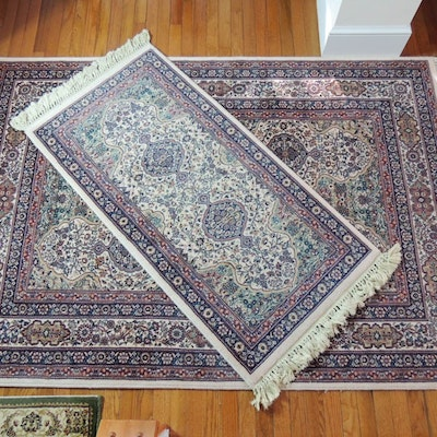 Pair Of Couristan Wool Area Rugs