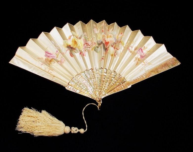 Vintage Ge Fan Model Numbers : Vintage folding fans ebth