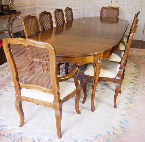Baker French Provincial Dining Room Table ...