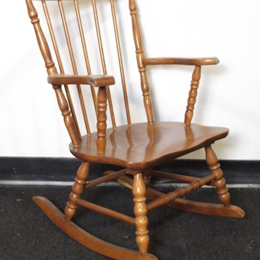 Outstanding Oak Hill Childs Size Rocking Chair Creativecarmelina Interior Chair Design Creativecarmelinacom