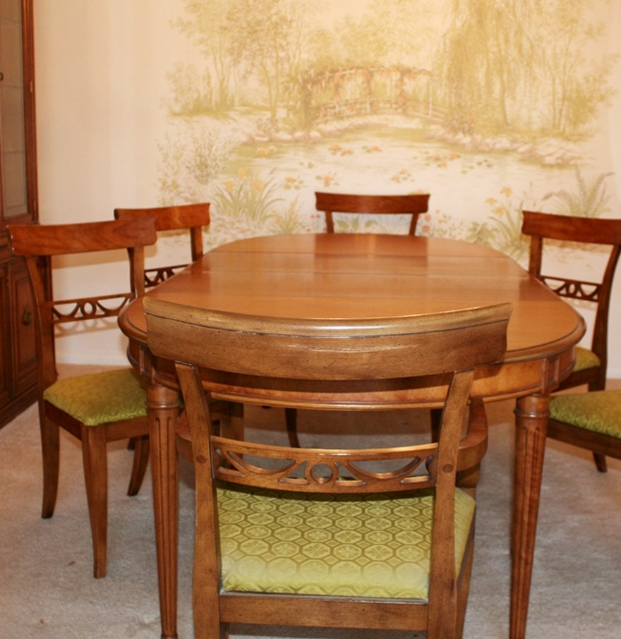 Henredon Dining Table And Chairs Frank Lloyd Wright For