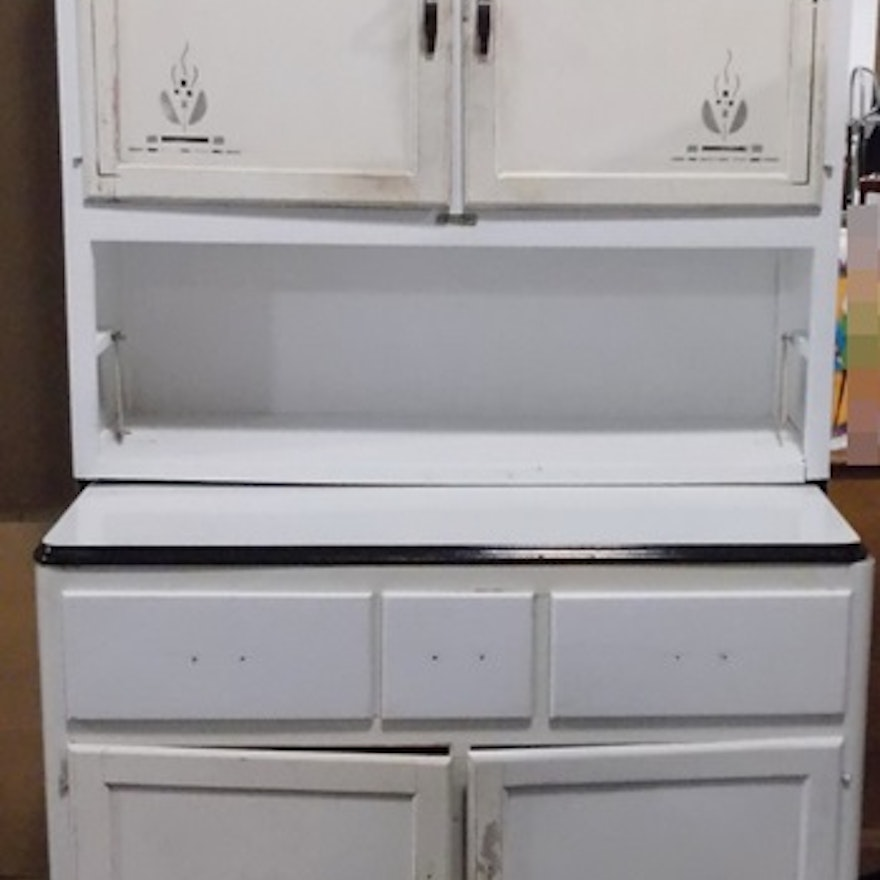 A Sellers Stand-Alone Kitchen Cabinet