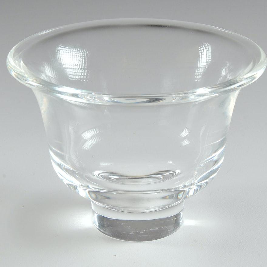 4f238323224 Signed Steuben Crystal Bowl   EBTH
