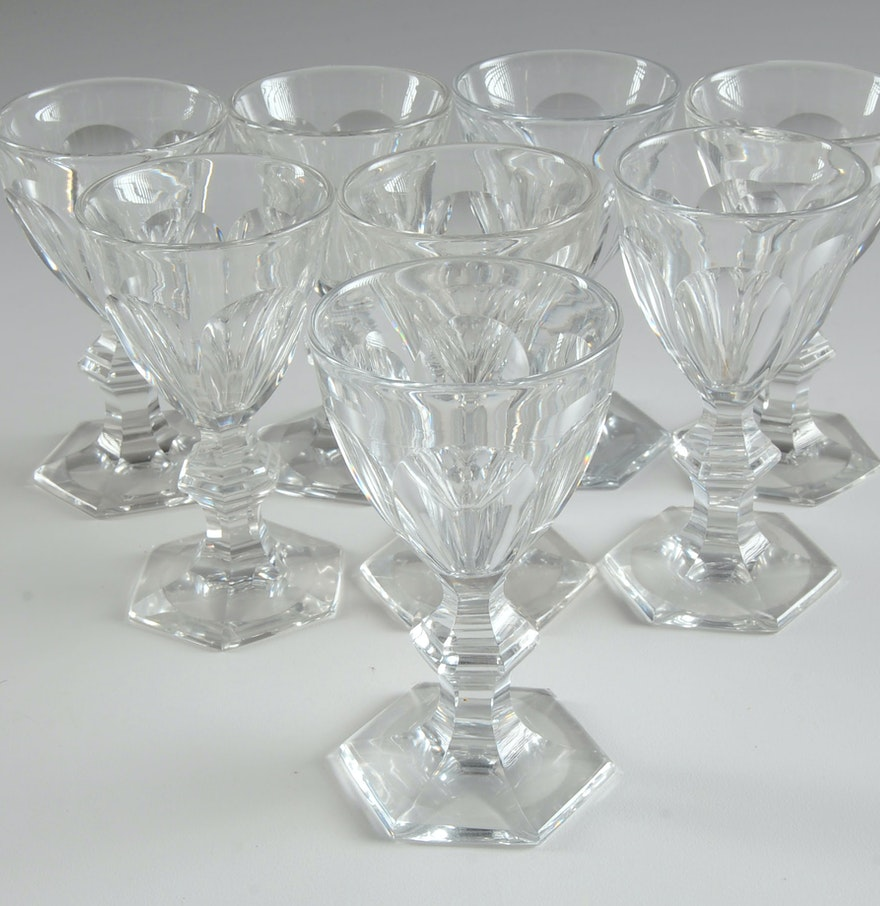 Baccarat crystal stemware ebth - Baccarat stemware ...