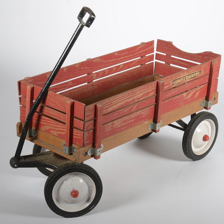Vintage Radio Flyer Town Amp Country Wagon Ebth