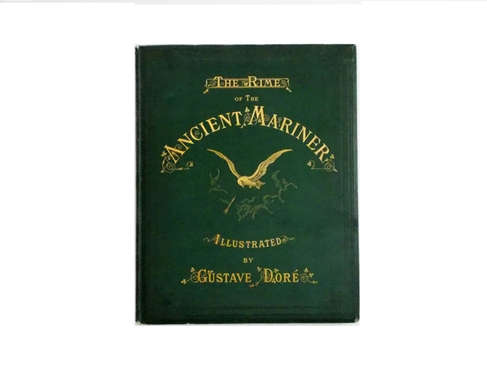 """""""The Rime of the Ancient Mariner"""", Illustrated by Gustave Dore, Published 1876"""