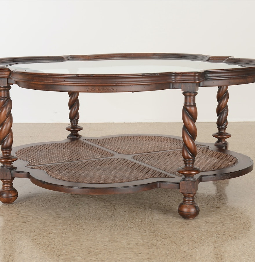 Beautiful Old World Style Coffee Table Ebth