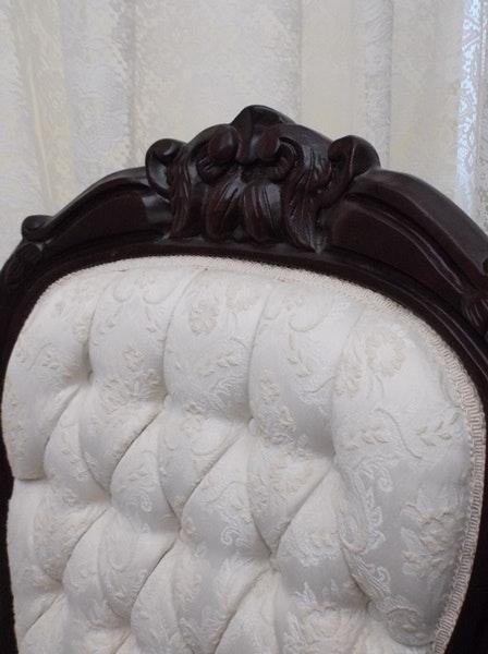 Victorian Lincoln Rocking Chair Ebth