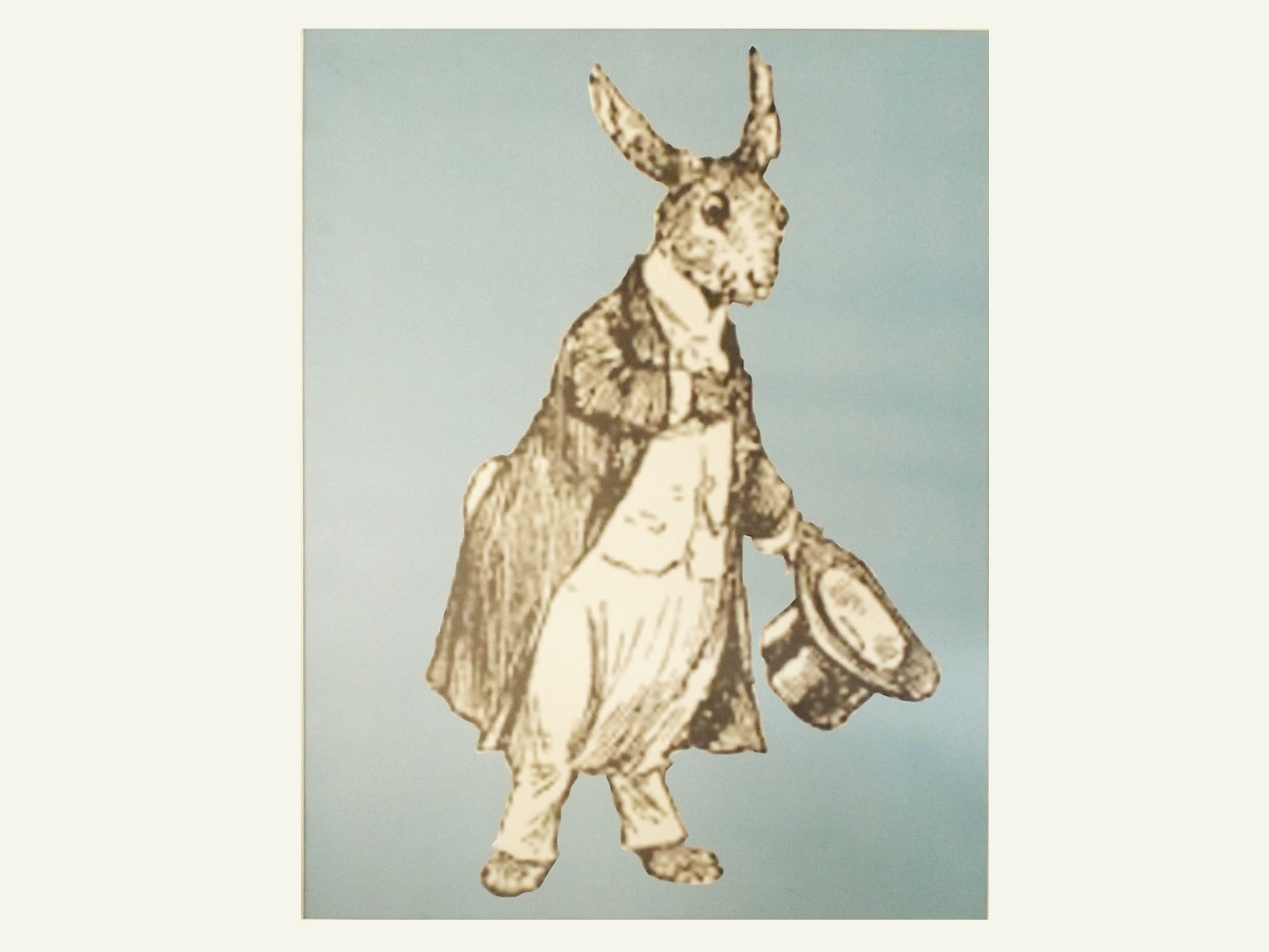 Original Andrew VanSickle Work on Canvas of the March Hare