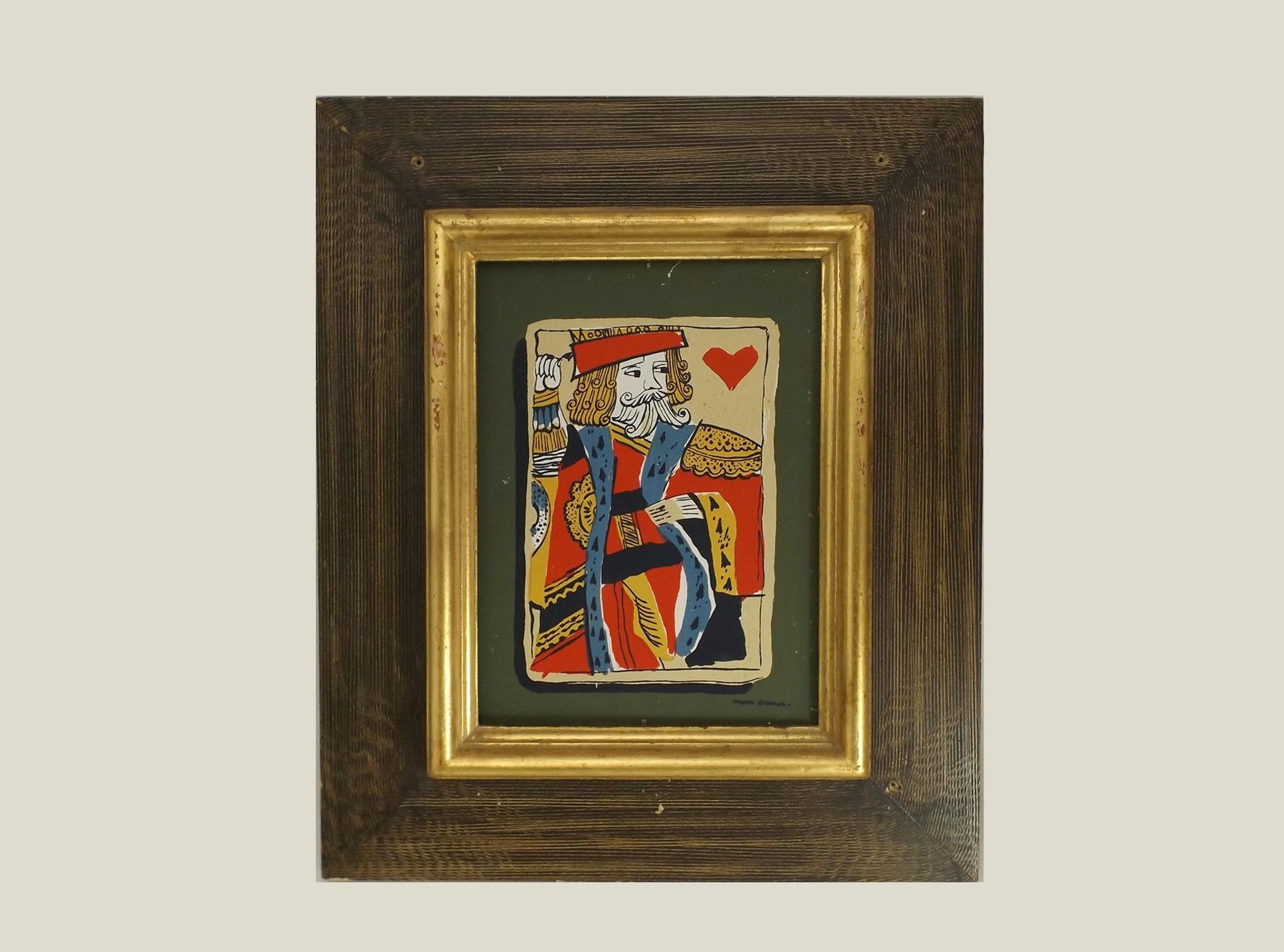 Mark Coomer King of Hearts Seriagraph