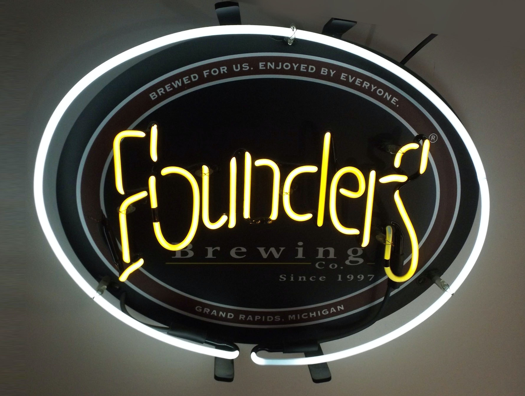Founders Brewing Co. Neon Sign