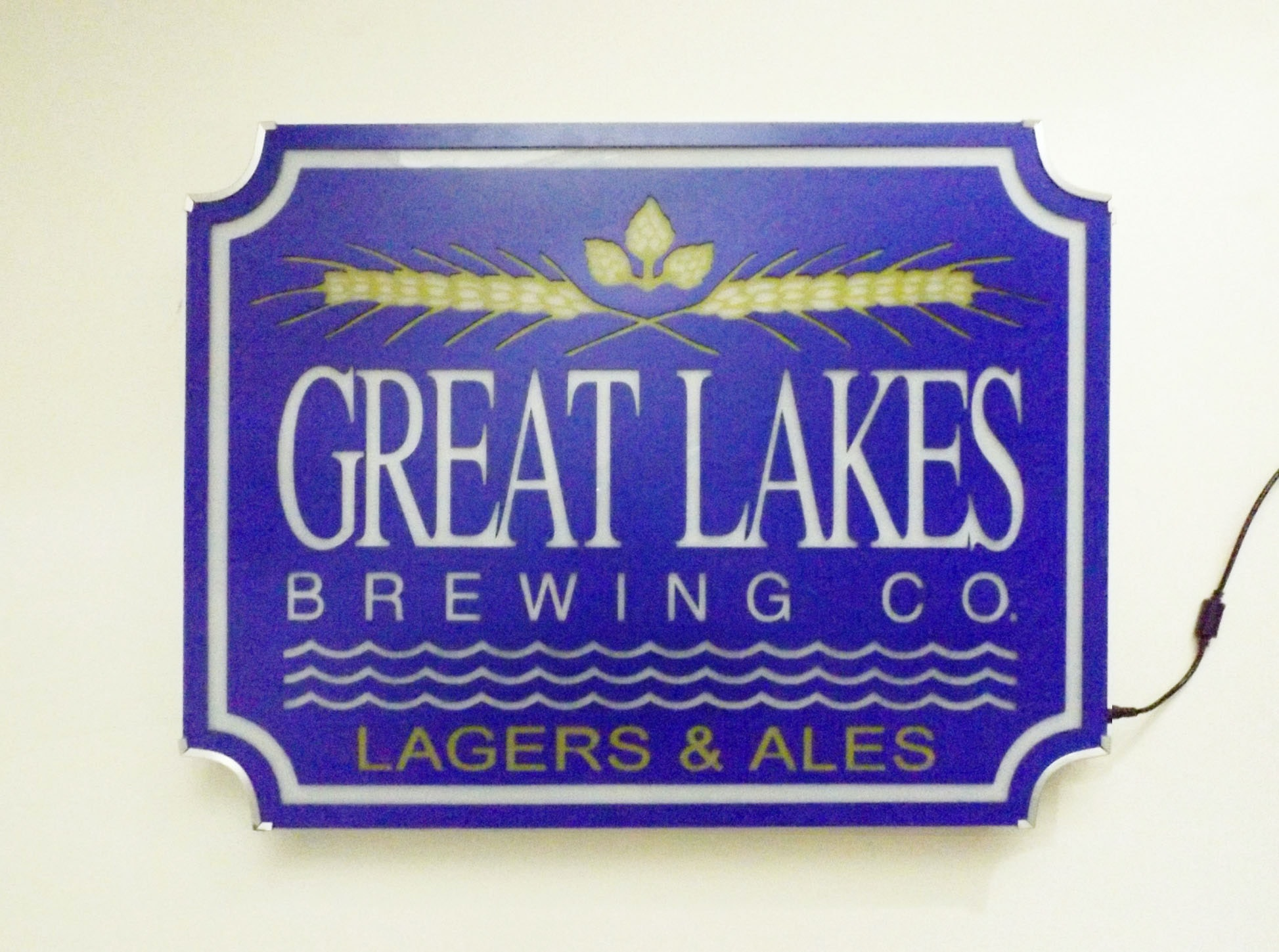 Great Lakes Brewery Co. Neon Sign