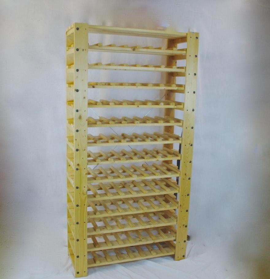 Ikea gorm shelf system wine rack ebth for Ikea wine shelf