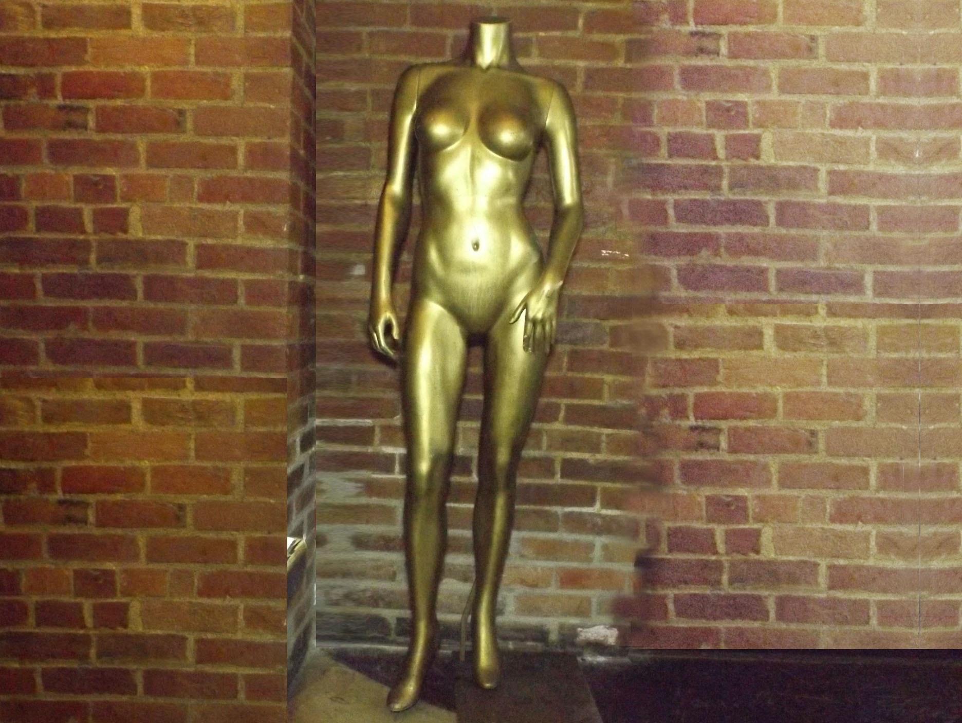 Gilded Female Mannequin