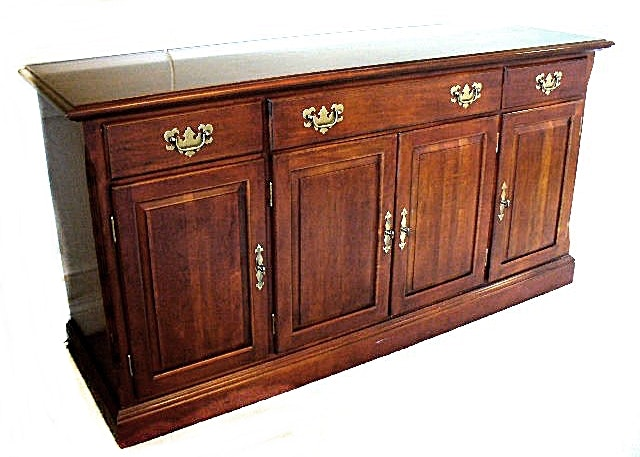 Cherry Finish Dining Room Buffet, Believed to be Ethan Allen